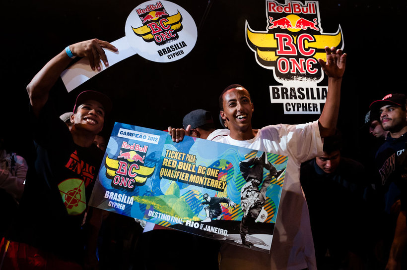 Vencedor da Red Bull BC One Cypher Brasília 2012